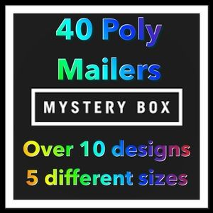 40 Poly Mailers Mystery Bundle PRICE IS FIRM